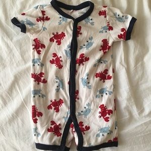 Crab and lobster romper